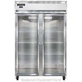Continental Refrigerator 2RS-SS-GD Refrigerator, Reach-In
