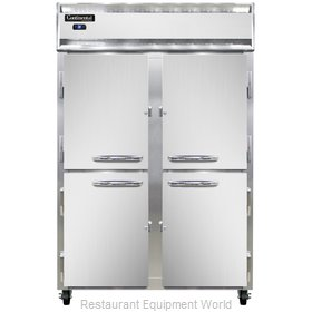 Continental Refrigerator 2RS-SS-HD Refrigerator, Reach-In
