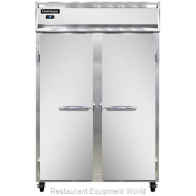Continental Refrigerator 2RS-SS Refrigerator, Reach-In