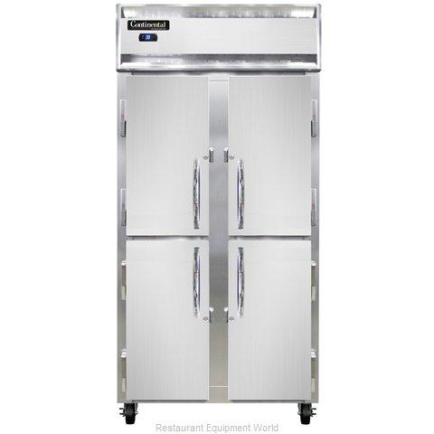 Continental Refrigerator 2RSE-SS-HD Refrigerator, Reach-In