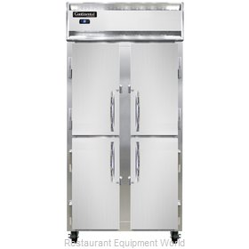 Continental Refrigerator 2RSE-SS-HD Refrigerator, Reach-In