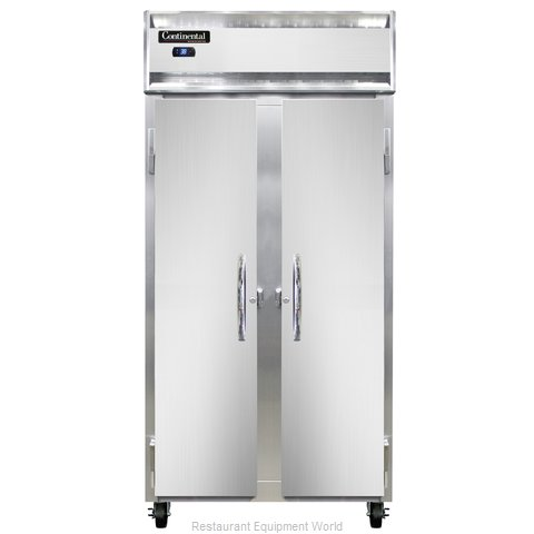 Continental Refrigerator 2RSE-SS Refrigerator, Reach-In