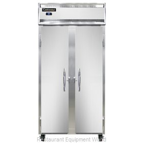 Continental Refrigerator 2RSE-SS Refrigerator, Reach-In