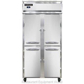 Continental Refrigerator 2RSES-HD Refrigerator, Reach-In