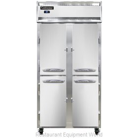 Continental Refrigerator 2RSES-SS-HD Refrigerator, Reach-In
