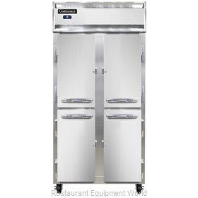 Continental Refrigerator 2RSES-SS-HD Refrigerator, Reach-In