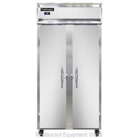 Continental Refrigerator 2RSES-SS Refrigerator, Reach-In