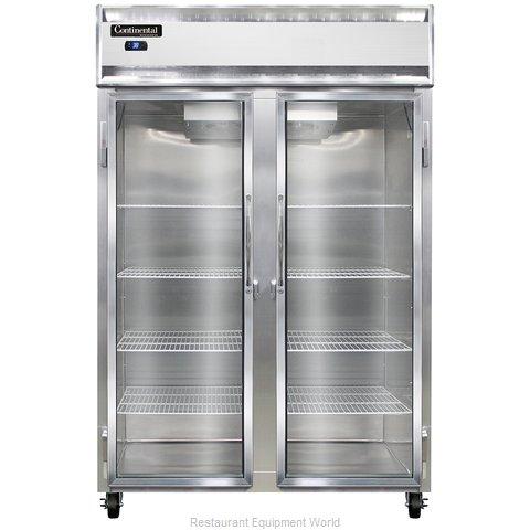 Continental Refrigerator 2RSNGD Refrigerator, Reach-In