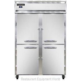Continental Refrigerator 2RSNHD Refrigerator, Reach-In