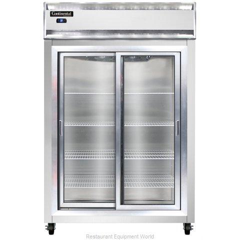 Continental Refrigerator 2RSNSASGD Refrigerator, Reach-In