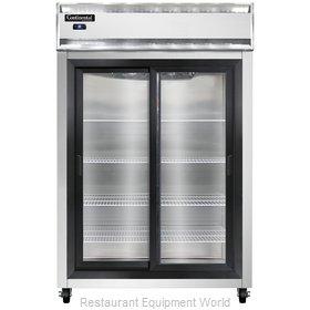 Continental Refrigerator 2RSNSGD Refrigerator, Reach-In