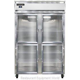 Continental Refrigerator 2RSNSSGDHD Refrigerator, Reach-In