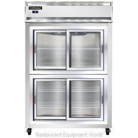 Continental Refrigerator 2RSNSSSGDHD Refrigerator, Reach-In