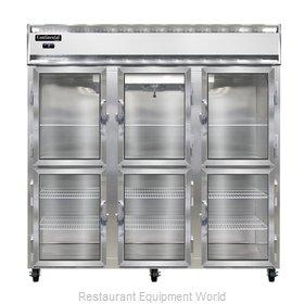 Continental Refrigerator 3F-GD-HD Freezer, Reach-In