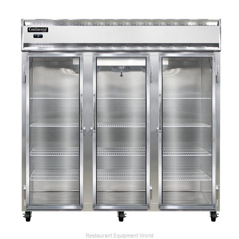 Continental Refrigerator 3F-GD Freezer, Reach-In