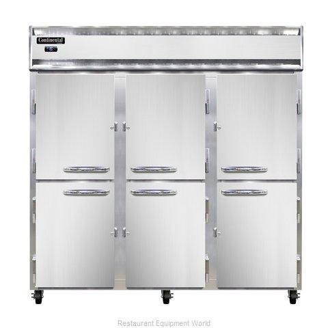 Continental Refrigerator 3F-LT-SA-HD Freezer, Low Temperature, Reach-In