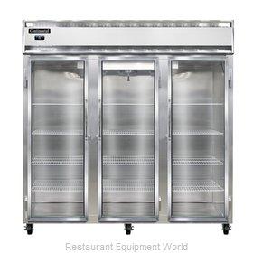 Continental Refrigerator 3F-LT-SS-GD Freezer, Low Temperature, Reach-In