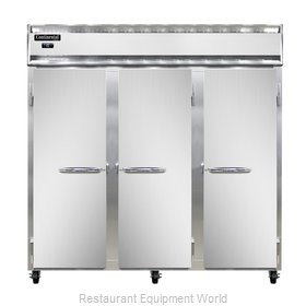 Continental Refrigerator 3F-LT-SS Freezer, Low Temperature, Reach-In