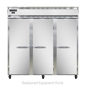 Continental Refrigerator 3F-LT Freezer, Low Temperature, Reach-In