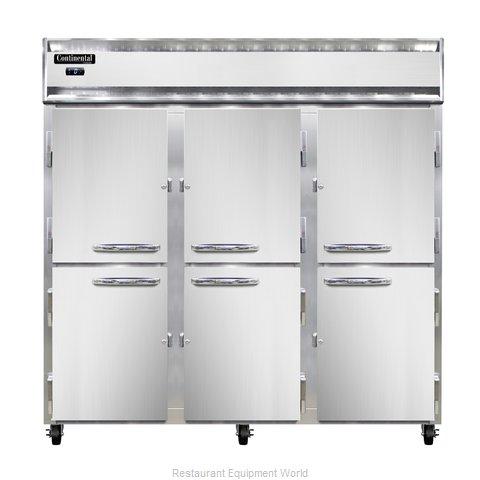 Continental Refrigerator 3F-PT-HD Freezer, Pass-Thru