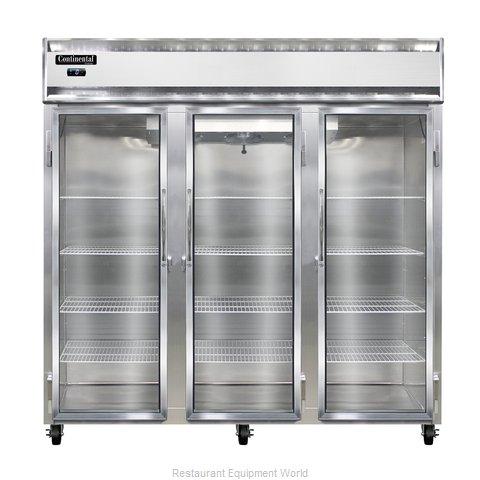 Continental Refrigerator 3F-SA-GD Freezer, Reach-In