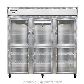Continental Refrigerator 3F-SS-GD-HD Freezer, Reach-In