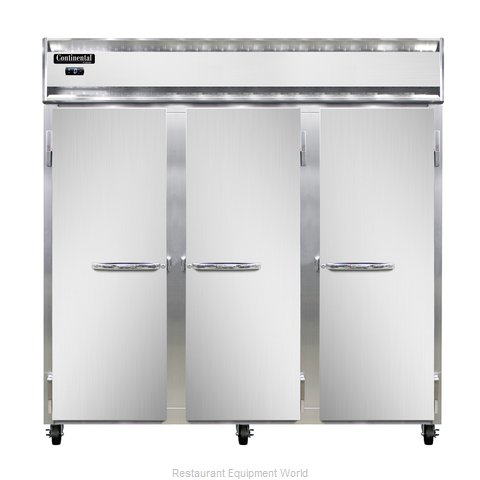 Continental Refrigerator 3F-SS-PT Freezer, Pass-Thru