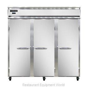 Continental Refrigerator 3F Freezer, Reach-In