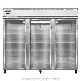 Continental Refrigerator 3FE-GD Freezer, Reach-In