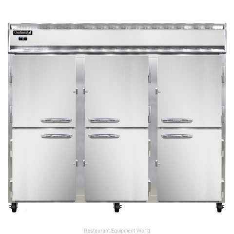 Continental Refrigerator 3FE-HD Freezer, Reach-In
