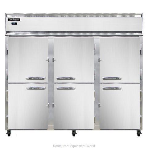 Continental Refrigerator 3FE-LT-SS-HD Freezer, Low Temperature, Reach-In