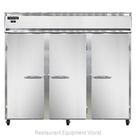 Continental Refrigerator 3FE-LT-SS Freezer, Low Temperature, Reach-In