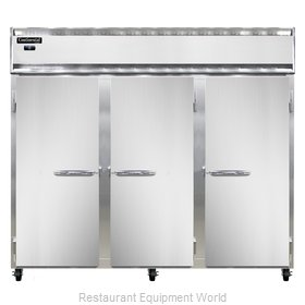 Continental Refrigerator 3FE-LT Freezer, Low Temperature, Reach-In