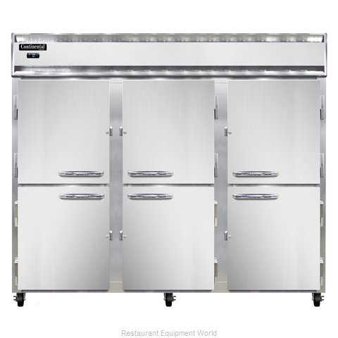 Continental Refrigerator 3FE-SS-HD Freezer, Reach-In