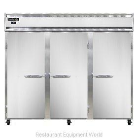 Continental Refrigerator 3FE-SS-PT Freezer, Pass-Thru
