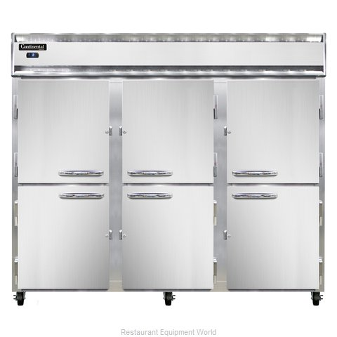 Continental Refrigerator 3FES-SA-HD Freezer, Reach-In