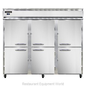 Continental Refrigerator 3FES-SS-HD Freezer, Reach-In