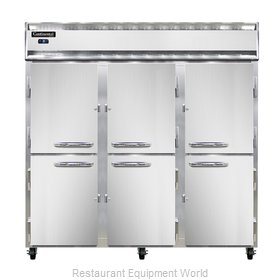 Continental Refrigerator 3FS-SS-HD Freezer, Reach-In