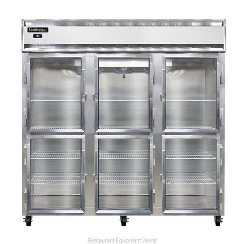 Continental Refrigerator 3R-GD-HD Refrigerator, Reach-In