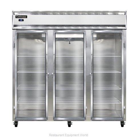 Continental Refrigerator 3R-GD Refrigerator, Reach-In