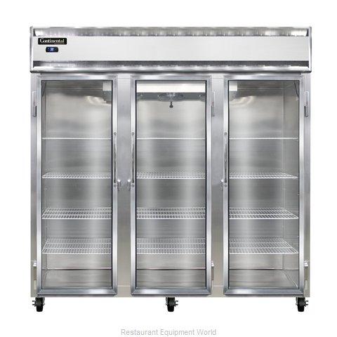 Continental Refrigerator 3R-SA-GD Refrigerator, Reach-In