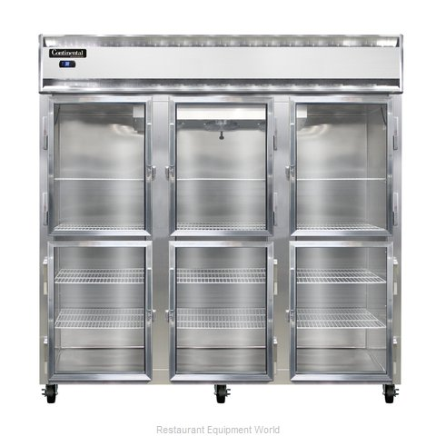 Continental Refrigerator 3R-SS-GD-HD Refrigerator, Reach-In