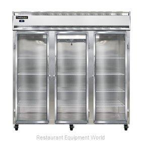 Continental Refrigerator 3R-SS-GD Refrigerator, Reach-In