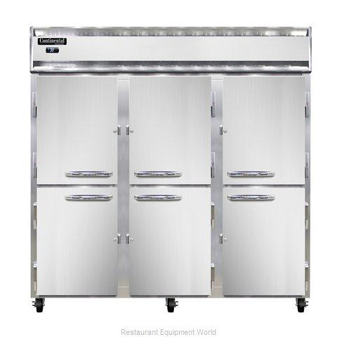 Continental Refrigerator 3R-SS-PT-HD Refrigerator, Pass-Thru