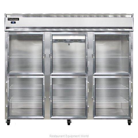 Continental Refrigerator 3RE-GD-HD Refrigerator, Reach-In