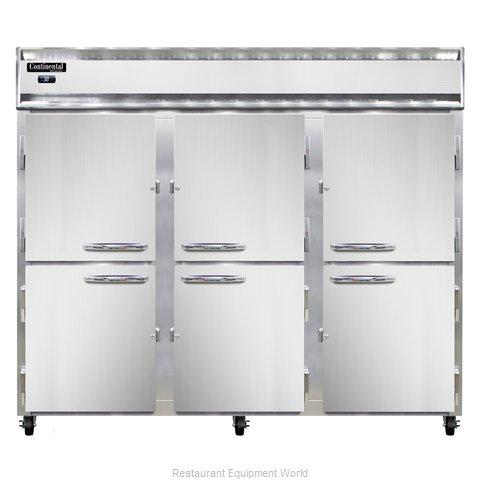Continental Refrigerator 3RE-PT-HD Refrigerator, Pass-Thru