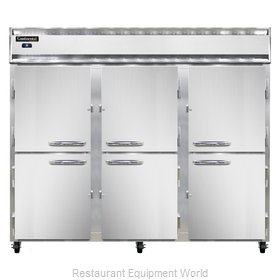 Continental Refrigerator 3RE-SS-HD Refrigerator, Reach-In