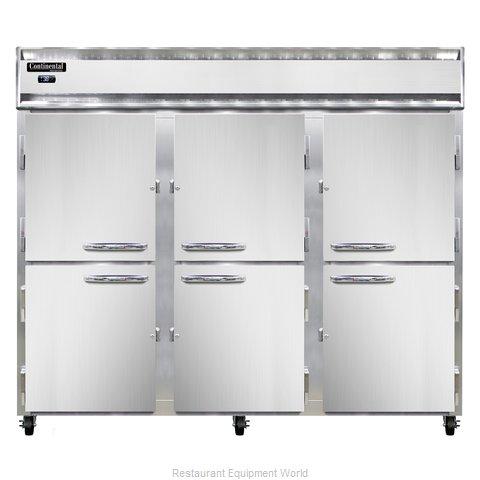 Continental Refrigerator 3RE-SS-PT-HD Refrigerator, Pass-Thru