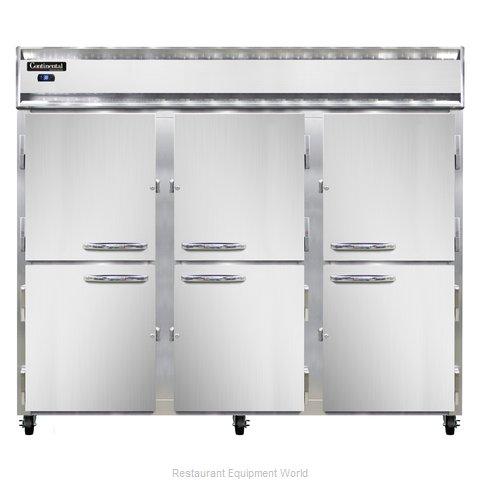 Continental Refrigerator 3RENSSHD Refrigerator, Reach-In