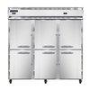 Three Section Reach-in Refrigerator/Freezer C